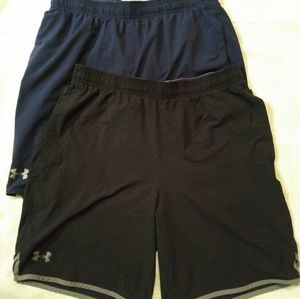 (2) Under Armour Shorts